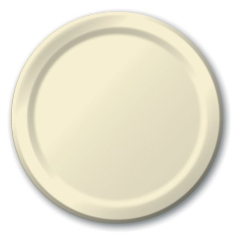 Creative Converting Touch of Color 24ct Paper Lunch Plates Ivory - Buy Bulk America  sc 1 st  Buy Bulk America & Creative Converting Touch of Color 24ct Paper Lunch Plates Ivory ...