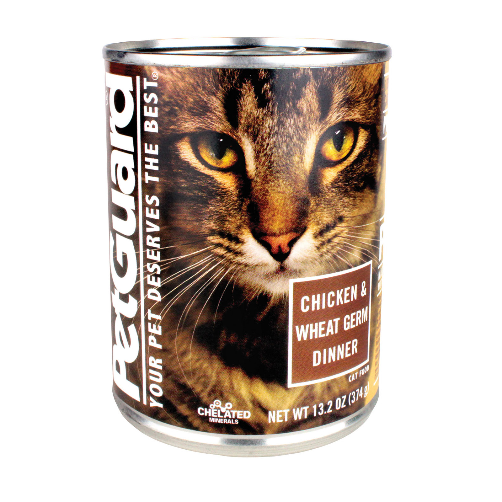 Petguard Cats Food Chicken And Wheat Germ Dinner 132 Oz Buy