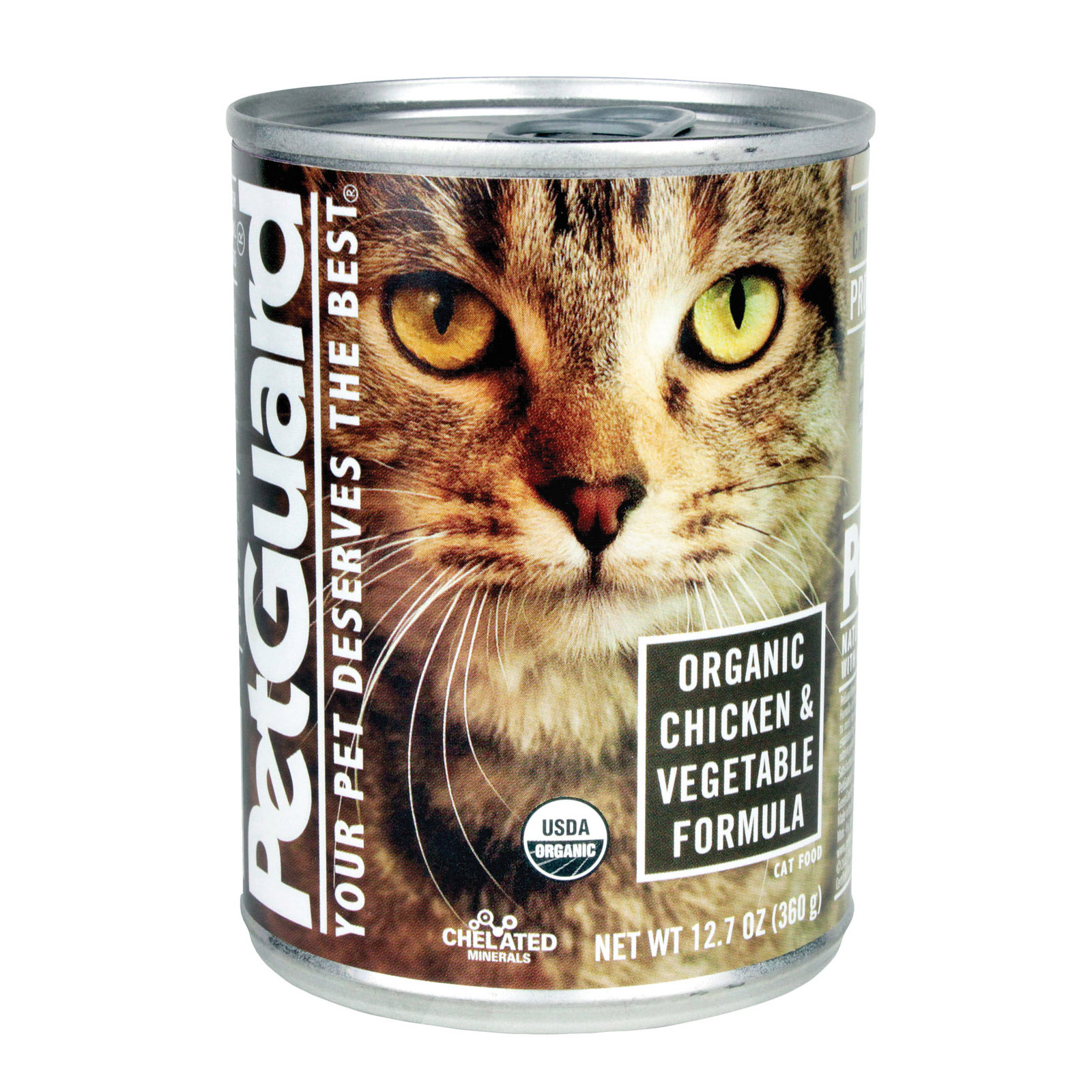 Petguard Cats Food Organic Chicken And Vegetable 127 Oz Buy