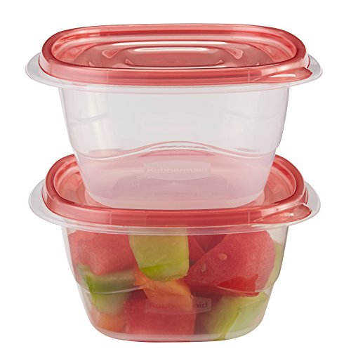 Rubbermaid TakeAlongs 52 Cup Deep Square Food Storage Container 2