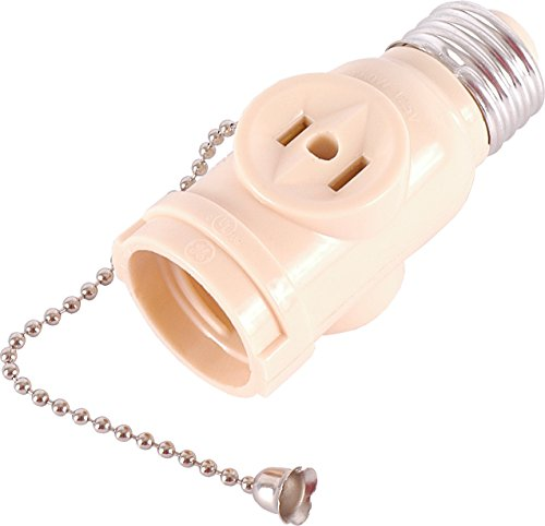 Next 1 2 Ge Socket Adapter With Pull Chain Light