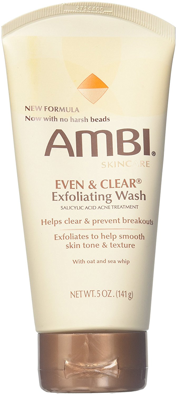 Valeant Pharmaceuticals Ambi Even & Clear Exfoliating Wash, 5 oz tattoo goo the original after care salve, 0.75 ounce