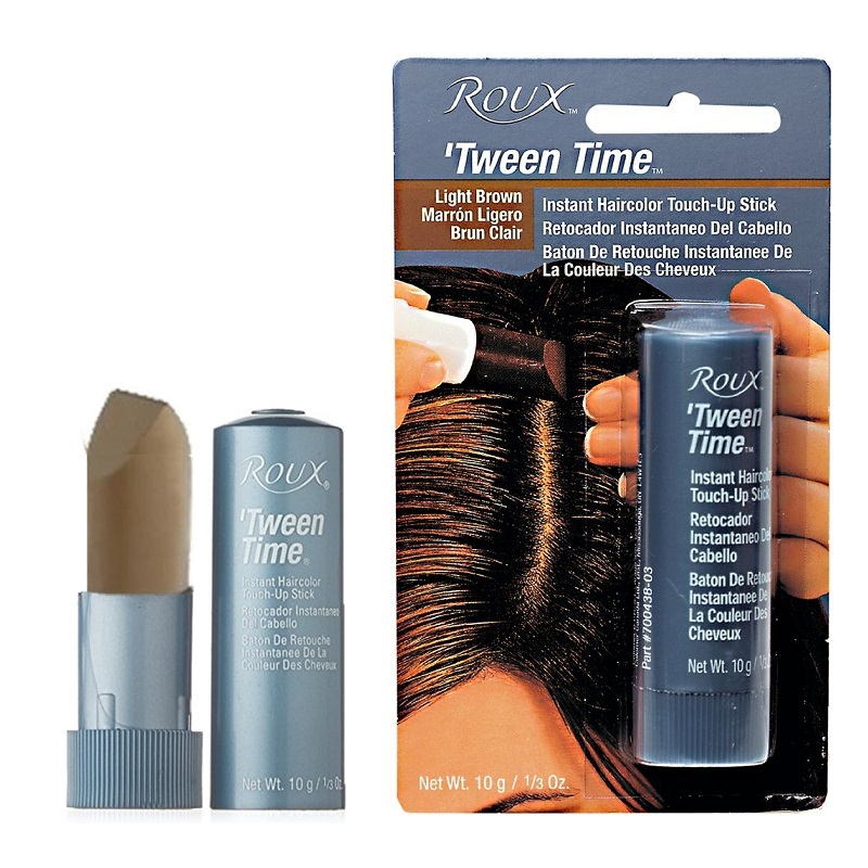 Roux Tween Time Instant Haircolor Touch Up Stick Light Brown 1 3 Oz Bulk America
